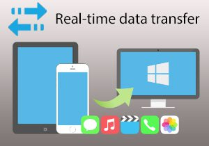 Real-time data transfer