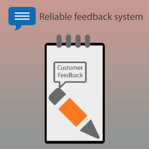 Reliable feedback system